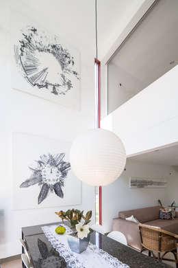 Projekty,  Jadalnia zaprojektowane przez Joana França