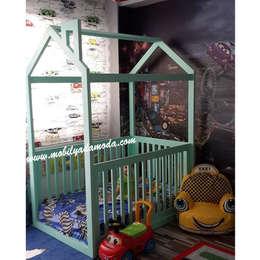MOBİLYADA MODA  – Montessori Yer Yatağı: modern tarz Çocuk Odası