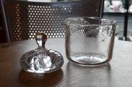 浅漬け鉢: 田井将博 グラスタイムが手掛けたキッチンです。
