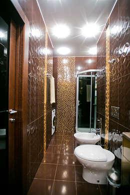 ул. Верхняя Масловка г.Москва: Ванные комнаты в . Автор – Designer Olga Aysina