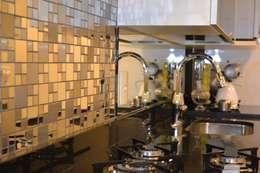 مطبخ تنفيذ Isabella Machado Arquitetura