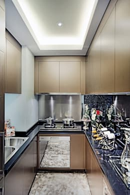 Timber House | China: modern Kitchen by Another Design London Limited