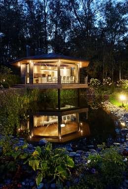 Беседкав п.Гринфилд: Дома в . Автор – ARCHDUET&DA
