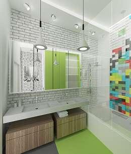 Baños de estilo minimalista por ARCHDUET&DA