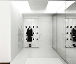 Квартира на Машиностроения: Коридор и прихожая в . Автор – ARCHDUET&DA