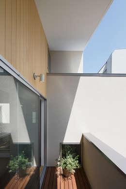 Projekty,  Taras zaprojektowane przez アトリエ スピノザ