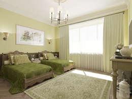 Неоклассика: визуализация и дизайн Дома Досуга : Спальни в . Автор – OK Interior Design