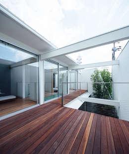 一級建築士事務所 株式会社KADeL의  베란다