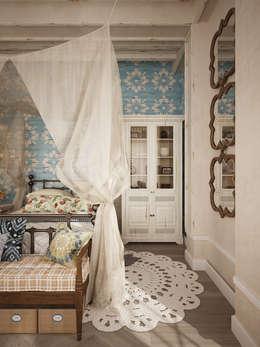 Dormitorios de estilo rústico por homify