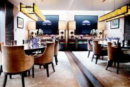 Kerim Çarmıklı İç Mimarlık – K.Ç EVİ: modern tarz Yemek Odası