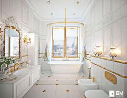 Projekty,  Łazienka zaprojektowane przez GM-interior