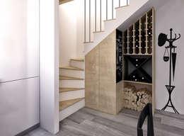 Bodegas de vino de estilo  por redesign lab