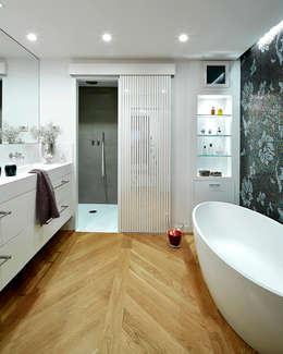 moderne Badkamer door Deu i Deu