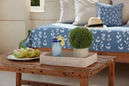 Primavera-Verano 2016: Balcones y terrazas de estilo colonial por VILLATTE - La Maison