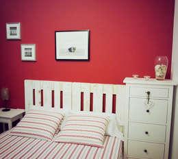 Recámaras de estilo moderno por Mind Made - Muebles hechos con Palets