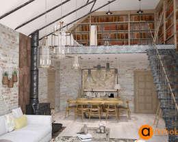 Атмосфера комфорта с изюминкой: кованые изделия: Гостиная в . Автор – Art-i-Chok
