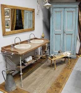 Projekty,  Łazienka zaprojektowane przez Porte del Passato