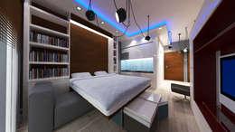 modern Bedroom by VRLWORKS