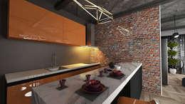 Cocinas de estilo moderno por VRLWORKS