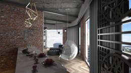 Livings de estilo moderno por VRLWORKS