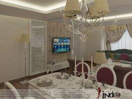 İNDEKSA Mimarlık İç Mimarlık İnşaat Taahüt Ltd.Şti. – YAŞANILABİLECEK ALANLAR TASARLIYOR VE YAPIYORUZ..: klasik tarz tarz Yemek Odası