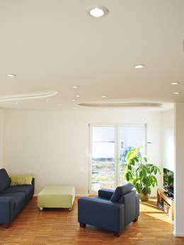 modern Living room by Miccoli ARCHITEKTUR+IMMOBILIEN Atelier
