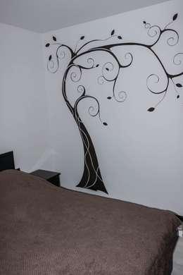 minimalistic Bedroom by SOROCHAN ART DESIGN