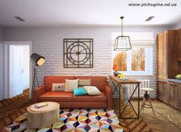 Квартира в ЖК Царицино: Гостиная в . Автор – Tatyana Pichugina Design