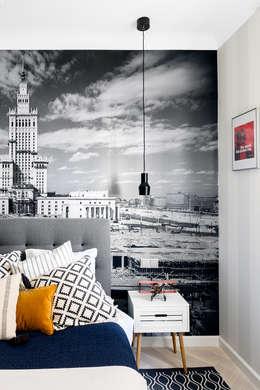 Sentymentalne mieszkanie na Muranowie: styl , w kategorii Sypialnia zaprojektowany przez Dagmara Zawadzka Architektura Wnętrz