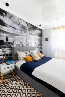 Phòng ngủ by Dagmara Zawadzka Architektura Wnętrz