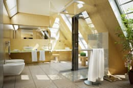modern Bathroom by Menz Design