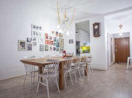 scandinavian Dining room by Patyna Projekt