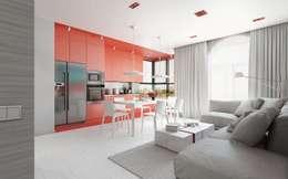 5 moderne woonkamers met een open keuken
