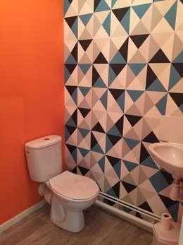 WC: Salle de bains de style  par Mint Design
