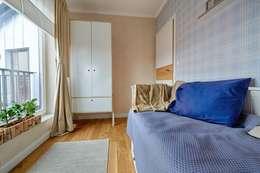 scandinavische Slaapkamer door DreamHouse.info.pl