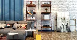 Projekty,  Salon zaprojektowane przez Penintdesign İç Mimarlık