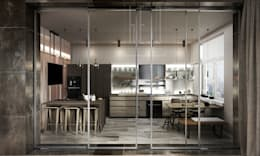 minimalistic Kitchen by he.d group