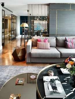Livings de estilo moderno por Esra Kazmirci Mimarlik