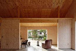 Projekty,  Taras zaprojektowane przez 井上貴詞建築設計事務所