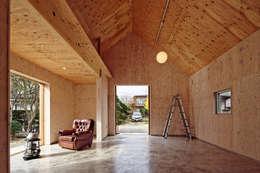 minimalistic Media room by 井上貴詞建築設計事務所