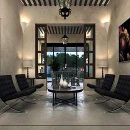 غرفة المعيشة تنفيذ Esquiliano Arqs