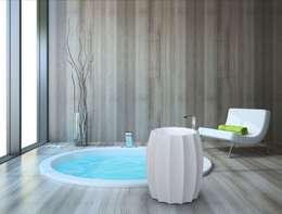 modern Bathroom by Studio Ferrante Design
