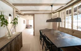industrial Dining room by Ardesia Design