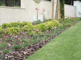 jardim privado: Jardins minimalistas por Raquel Frias - arquitectura paisagista