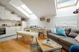 scandinavian Living room by DreamHouse.info.pl