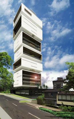 Коммерческие помещения в . Автор – M Group Arquitectura