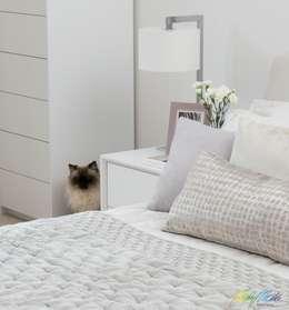 modern Bedroom by Katie Malik Interiors