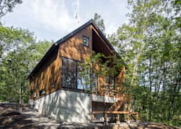 บ้านและที่อยู่อาศัย by Unico design一級建築士事務所