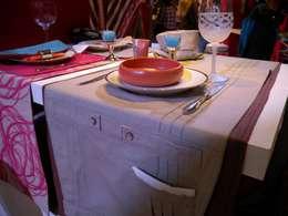 Ropa de mesa: Comedores de estilo rural por protocolo criollo®