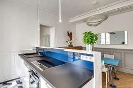 Projekty,  Kuchnia zaprojektowane przez ATELIER FB